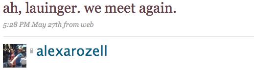 ah, lauinger. we meet again.