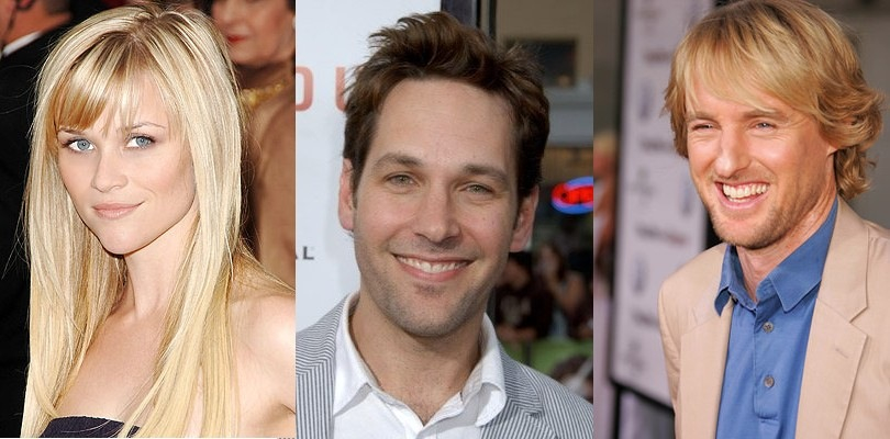 Reese Witherspoon, Paul Rudd, Owen Wilson