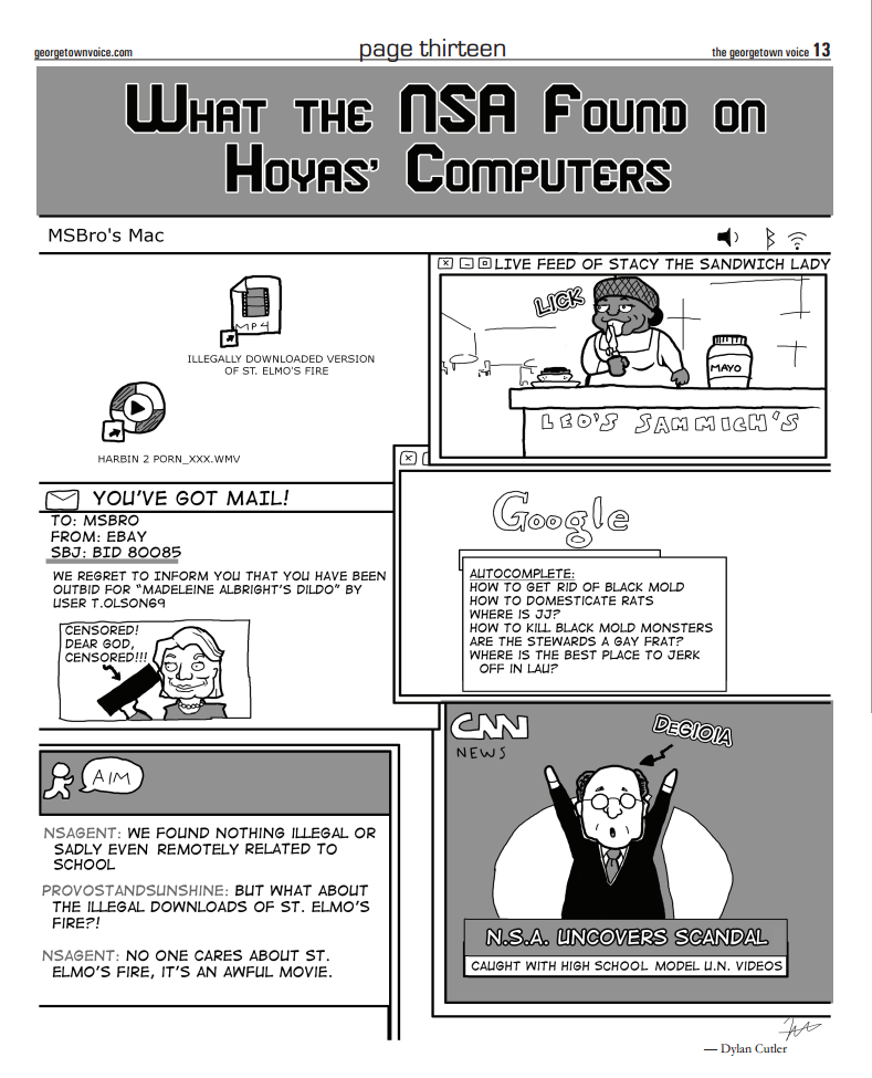 What the NSA found on Hoyas' computers