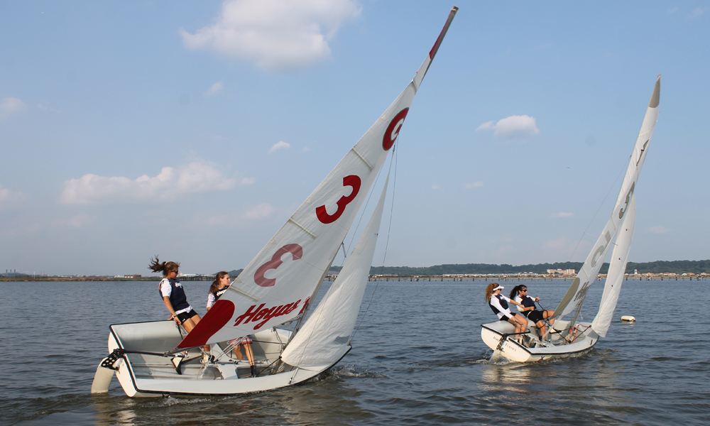 All Hands on Deck: Risks and Rewards of Georgetown Sailing