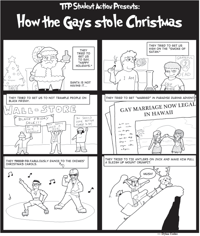 TFP Student Action Presents: How the Gays Stole Christmas