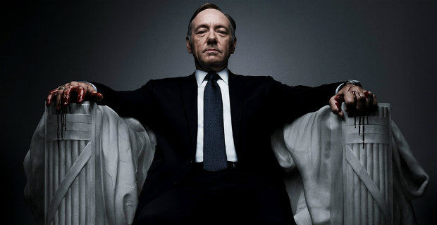 Season 3 of <i>House of Cards</i> Rises to the Top