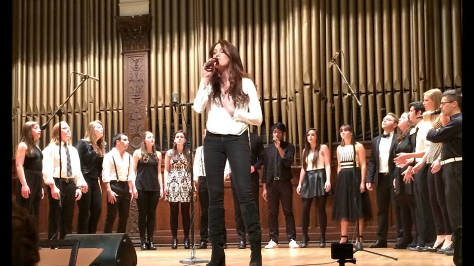 A cappella concert sings winter away