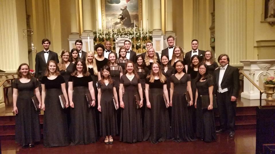 Georgetown University Concert Choir: Bringing Mozart Bach