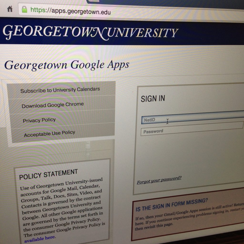 Multiple Georgetown Email Accounts Compromised By Scammers The
