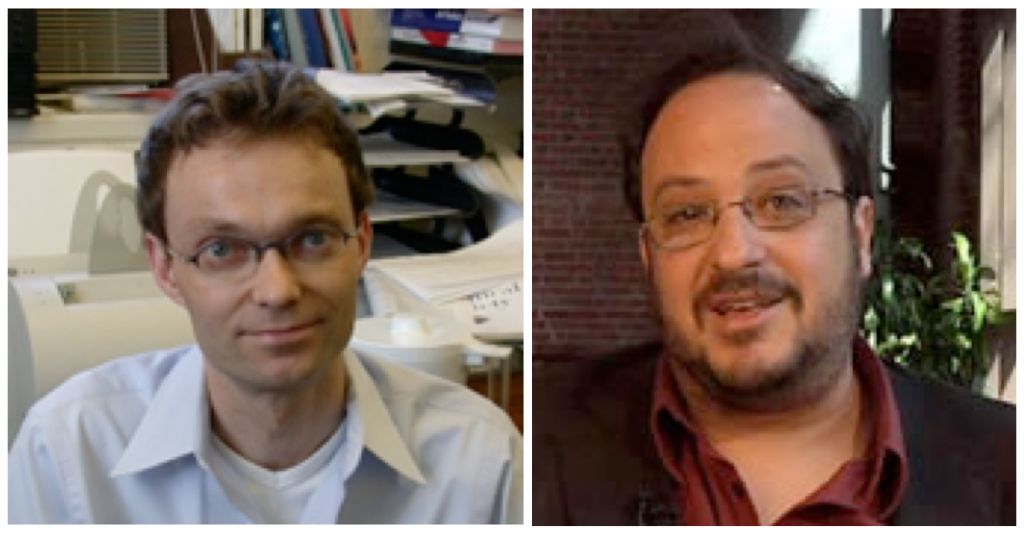 Dr. Christian Wolf (left) and Dr. Dr. Derek Goldman (right). Photos: Georgetown University
