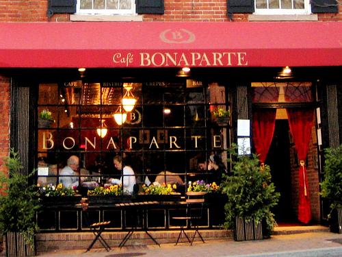 Halftime Brunch Bracket: <i>Cafe Bonparte</i>