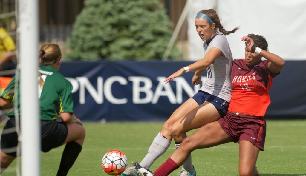 Women's Soccer Road-Trip Roundup: Hoyas wear the Hatters, lose duel with the Knights