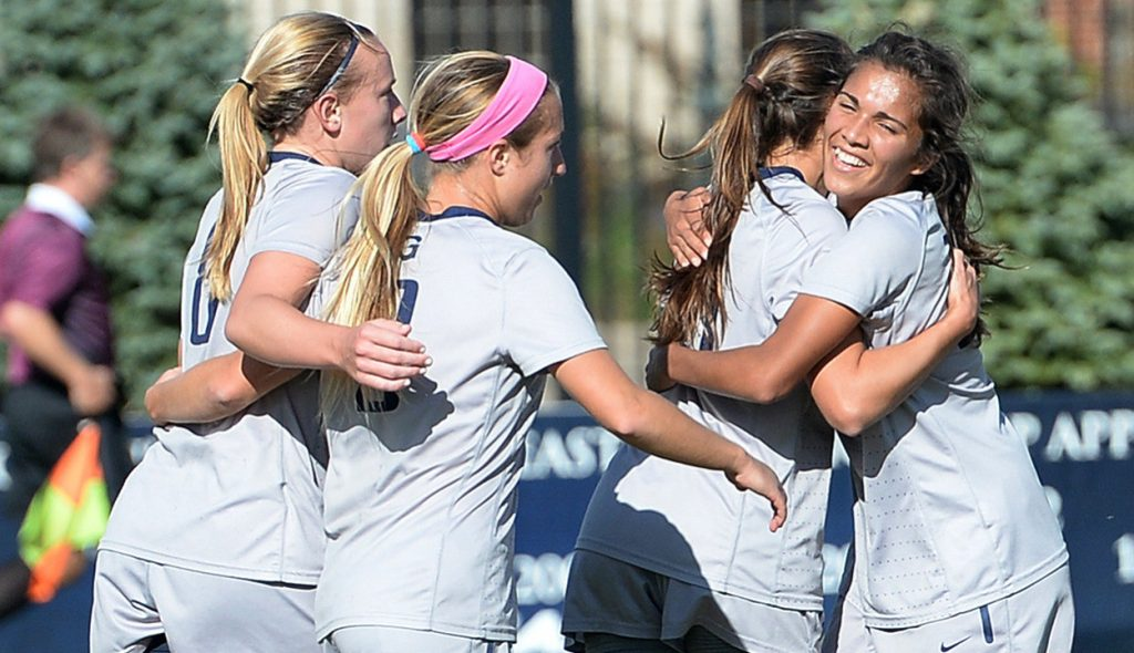 Seniority Rules: Women's soccer beats Creighton 3-1 on Senior Day to secure Big East bye