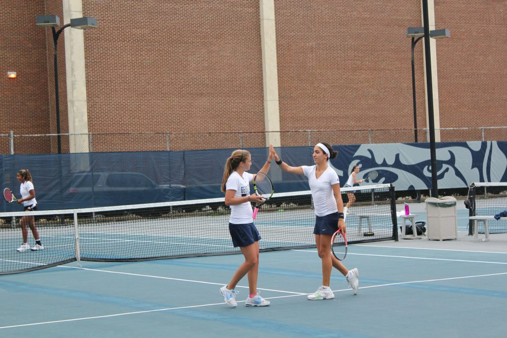 How long could it be until Hoyas get to practice on campus again? FILE PHOTO: Lucia He/Georgetown Voice