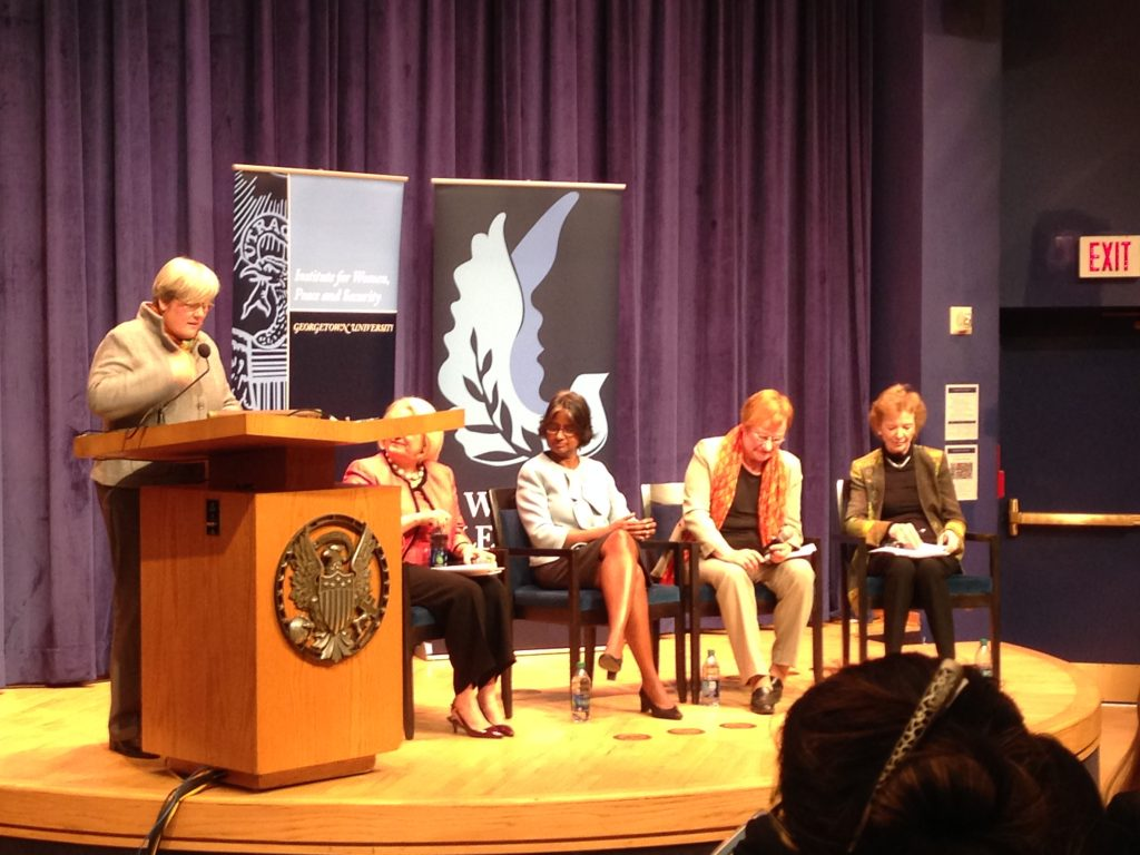 Panel on women and climate change discusses women's agency, looks forward to Paris climate conference