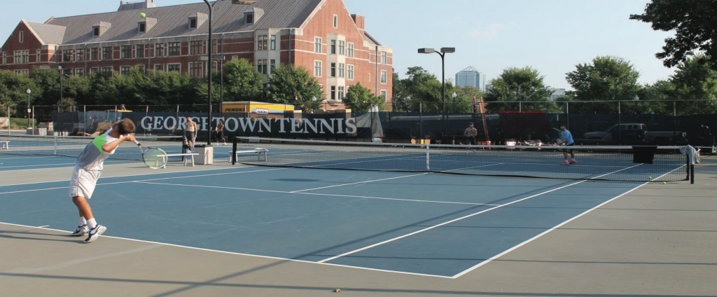 Break Point: The murky future of tennis on Georgetown's campus