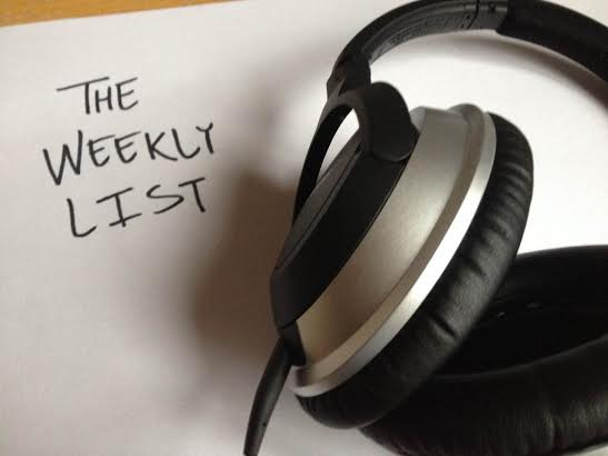 The Weekly List: Braving the Rainy Weekend