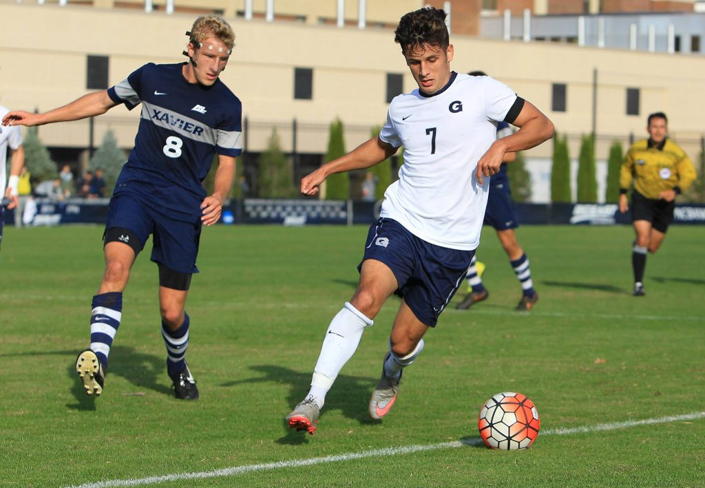 One Down, One to Go: Men's Soccer Advances to Big East Tournament Championship