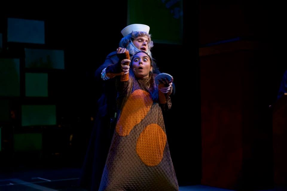 Newts Occupy Gonda Theater in Department's Adaptation of War with the Newts