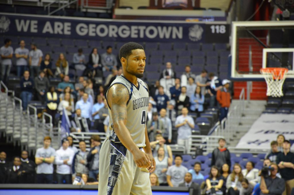 Dirty Thirty: DSR's 30 lifts Hoyas to ugly win over UMES