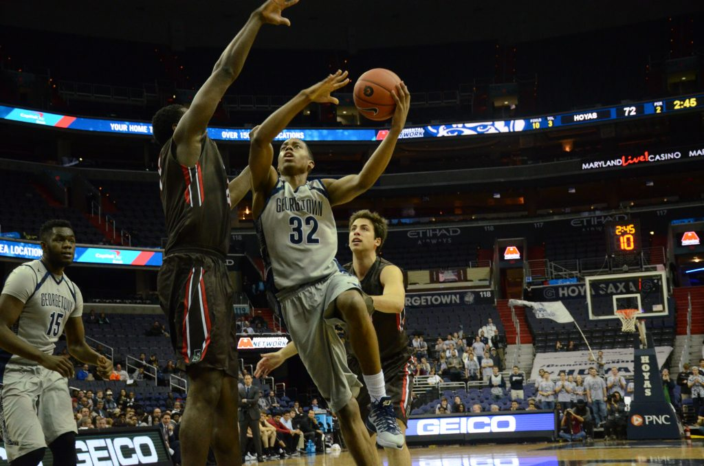 What Can Brown Do For GU? Extend the winning streak to four