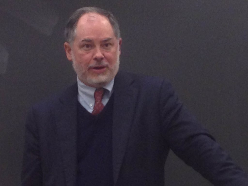 Hillyer discusses free speech at Georgetown