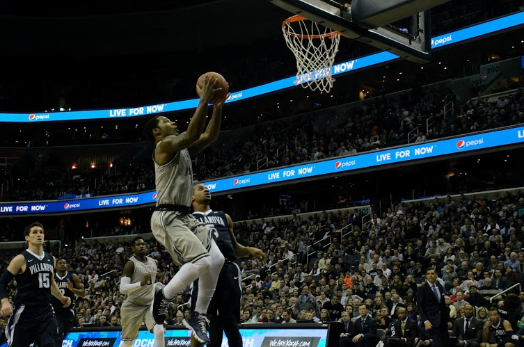Can't Get 'Nova the Hump: Hoyas drop third game to top-10 opponent in loss to No. 6 Villanova