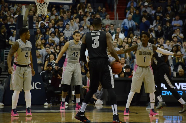 Ben There Dunn That: Bentil and Dunn combine for 52 to lead No. 10 Providence past Hoyas