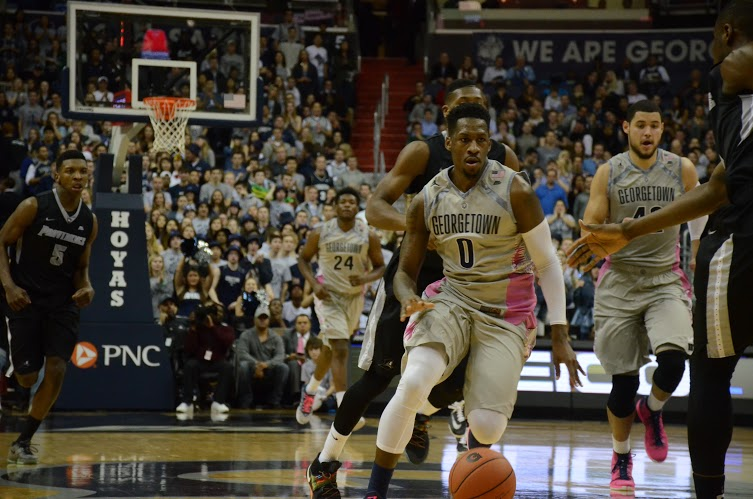 We Are Georgetown and You're Not: Hoyas to host Butler Saturday afternoon for Senior Day