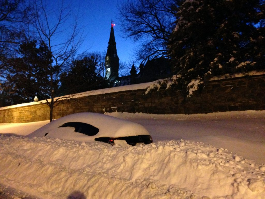 City on a Hill: Snow More Parking Tickets