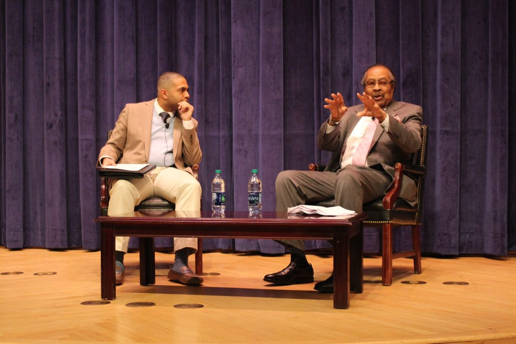 Clarence Jones reflects on civil rights