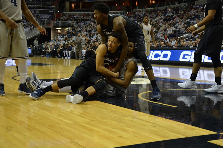 X's and Oh's: Hoyas smothered by No. 8 Xavier, drop third-straight