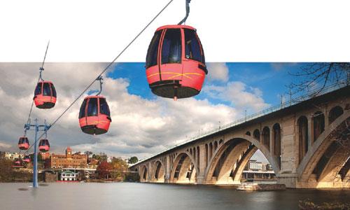 University takes lead in aerial gondola coalition