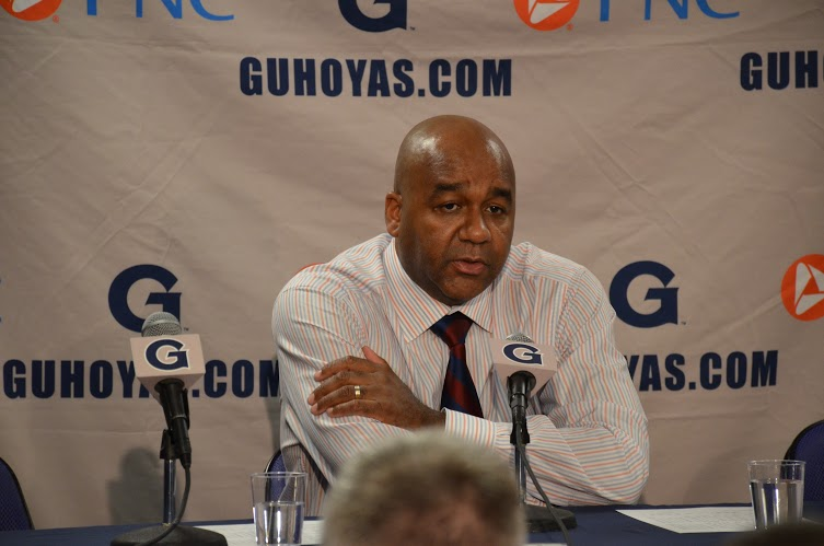 DeGioia continues to support Thompson's leadership of men's basketball