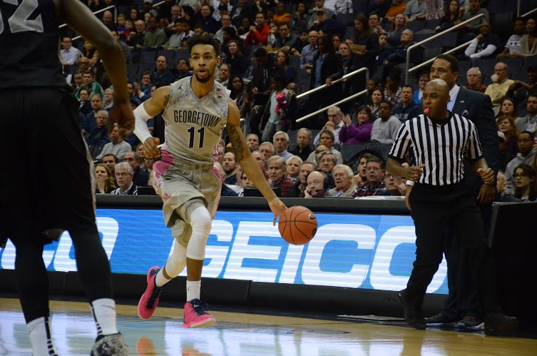 Gone Fisch-ing: Hoyas drop in fifth in a row due to Fischer's late free throws