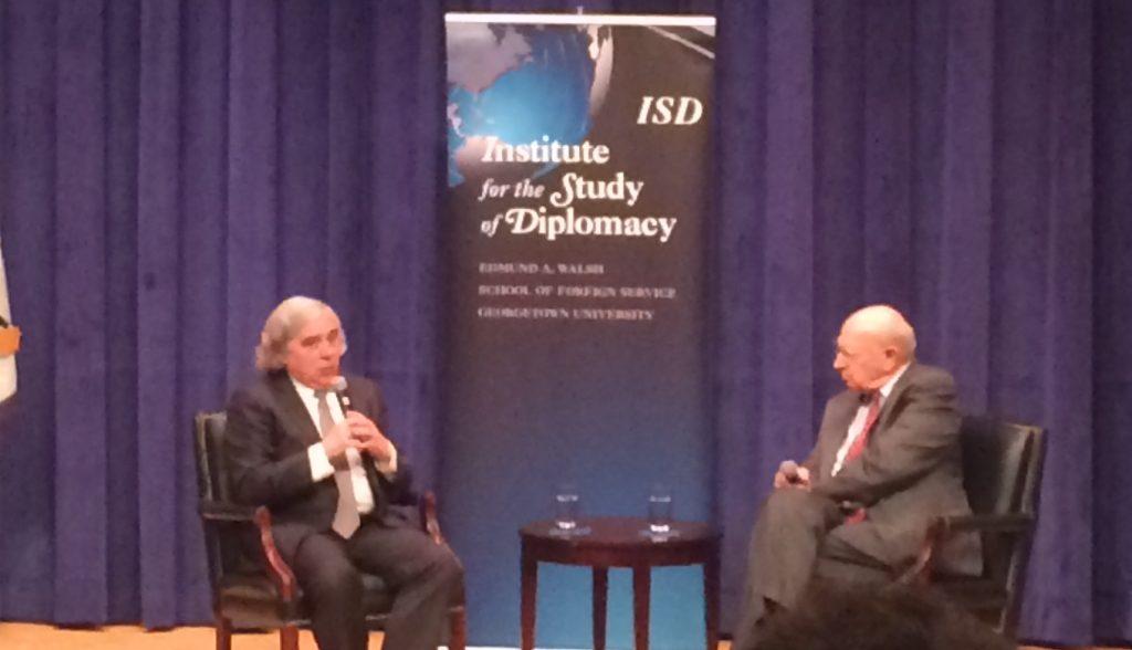 Sec. of Energy Ernest Moriz discusses diplomacy, Iran deal