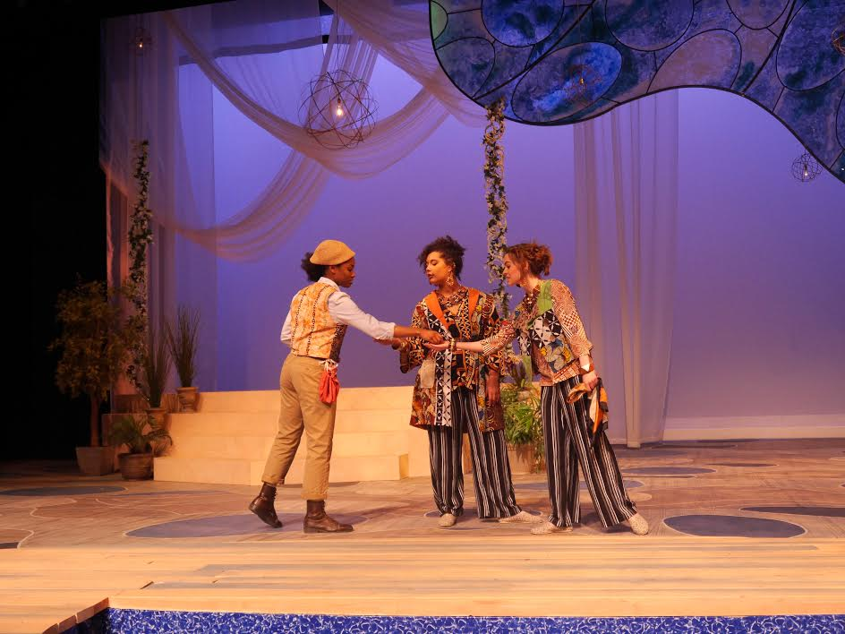 A Tropical, Playful Twelfth Night Delights at The Gonda Theatre
