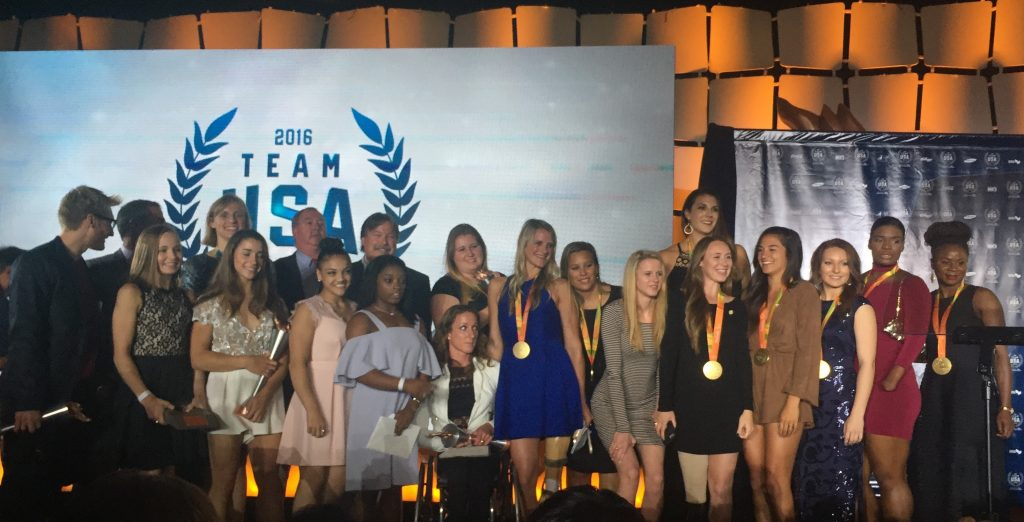 Olympic and Paralympic teams honored at Georgetown
