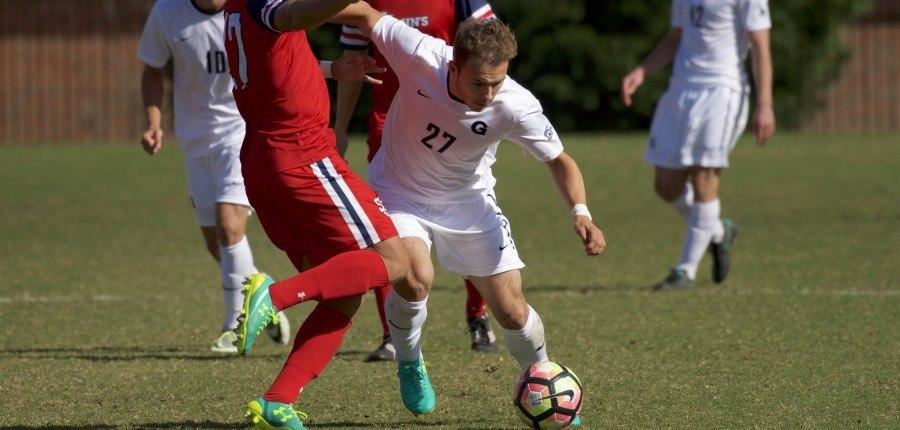 Calming the Storm: Men's soccer downs St. John's