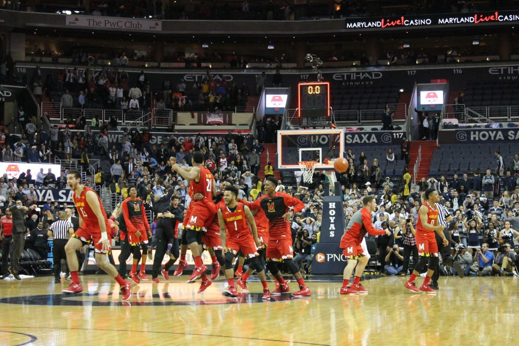 Tortoise avoids the scare: Maryland summons late-game heroics to upend Hoyas