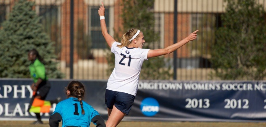 On to the Next One: Women's soccer downs St. Francis, advances in NCAA tourney