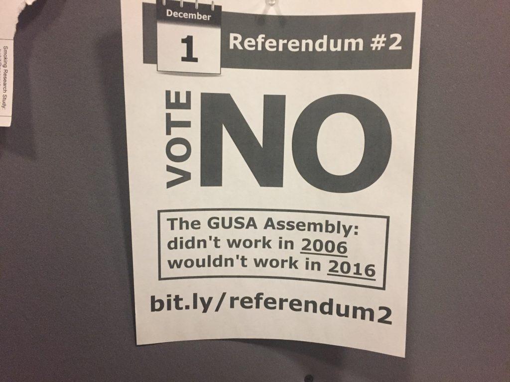 GUSA Constitutional Council overturns referendum result