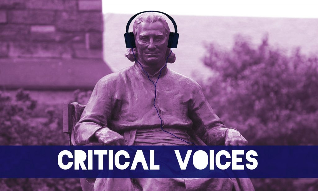 Critical Voices: The Living, <i>Drinking From the Trough of a Tyrant's Piss</i>