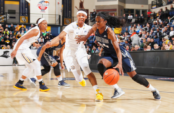 Women's basketball falls to Marquette in quarterfinals of Big East Tournament