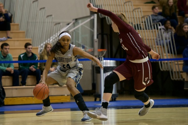 Rammed: Women's basketball falls to Fordham in first round of WNIT