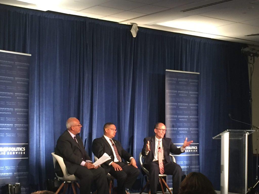 DNC leaders discuss millennial engagement