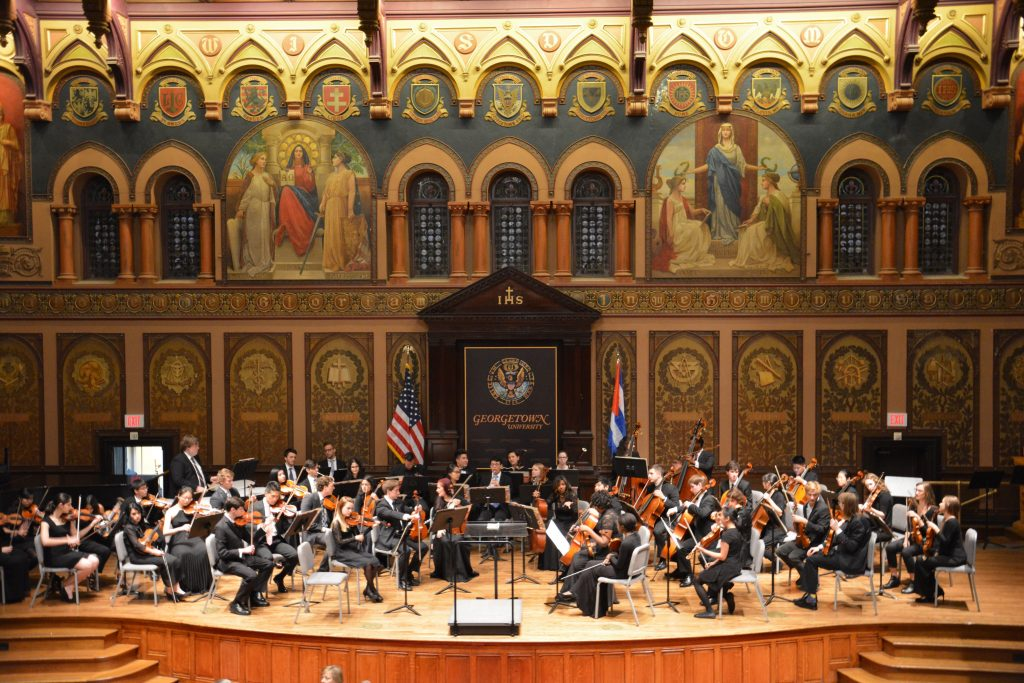 Cuban musicians visit Georgetown for joint performance