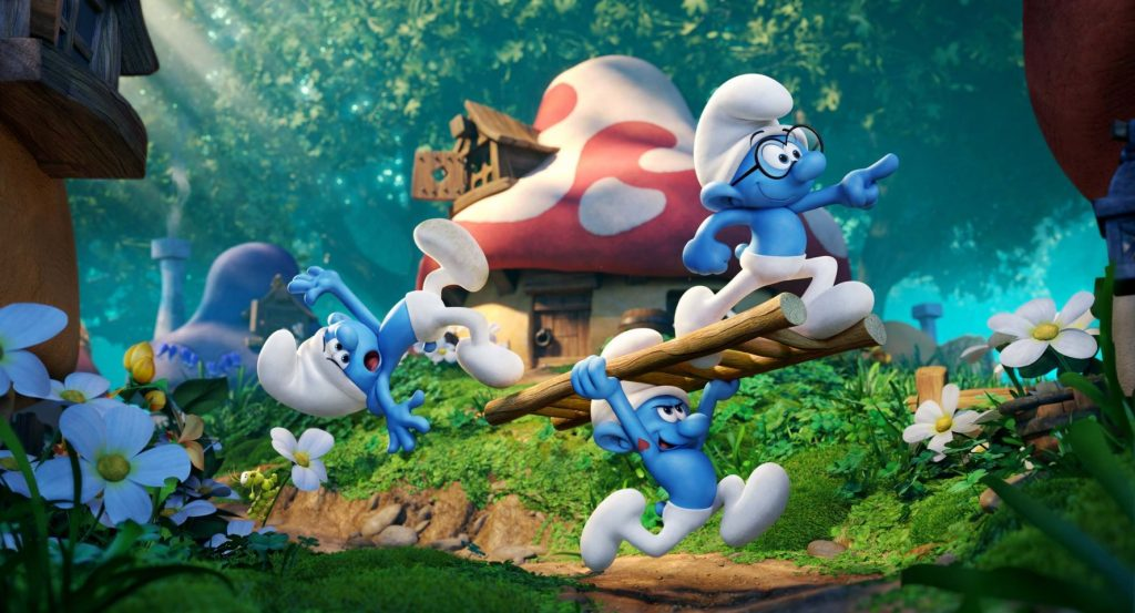 <i>Smurfs: The Lost Village</i> Lacks Plot Development and Ingenuity