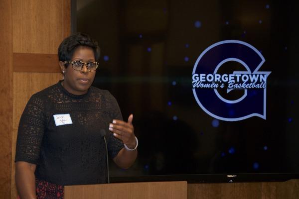 Natasha Adair to Depart Georgetown for University of Delaware