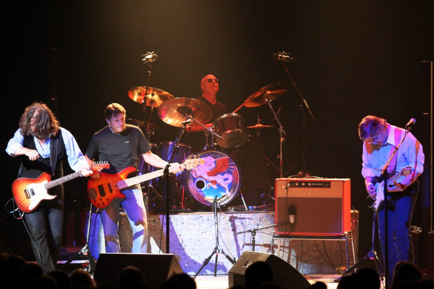 "Peter Frampton and Steve Miller Band Made the Crowd ""Dance, Dance, Dance"" All Night Long at Merriweather Post Pavilion"