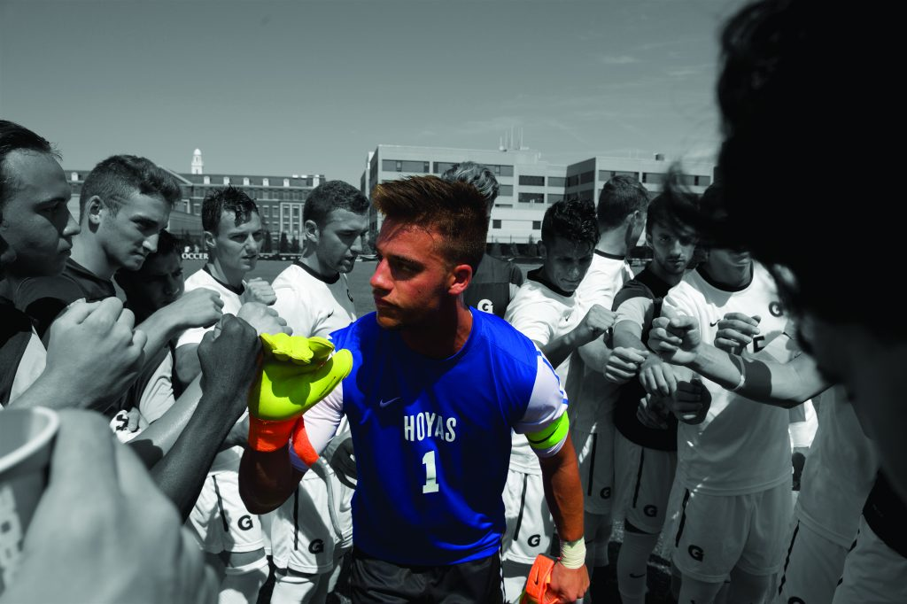 Making his Mark: JT Marcinkowski Pushes the Boundaries of Georgetown Soccer