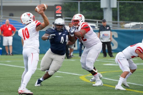 Football opens season with a big win at Marist