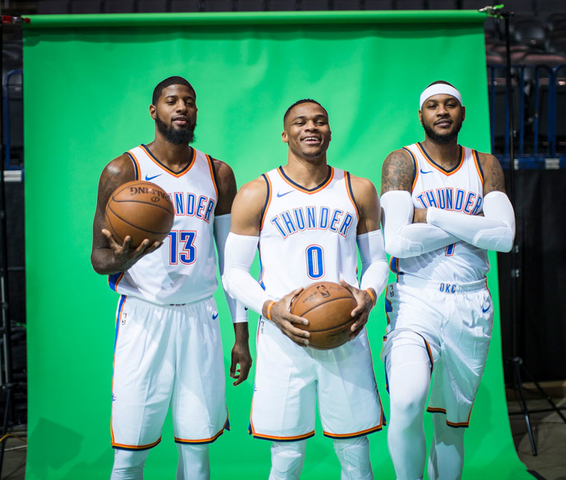 Carmelo Anthony faces a new challenge in Oklahoma City