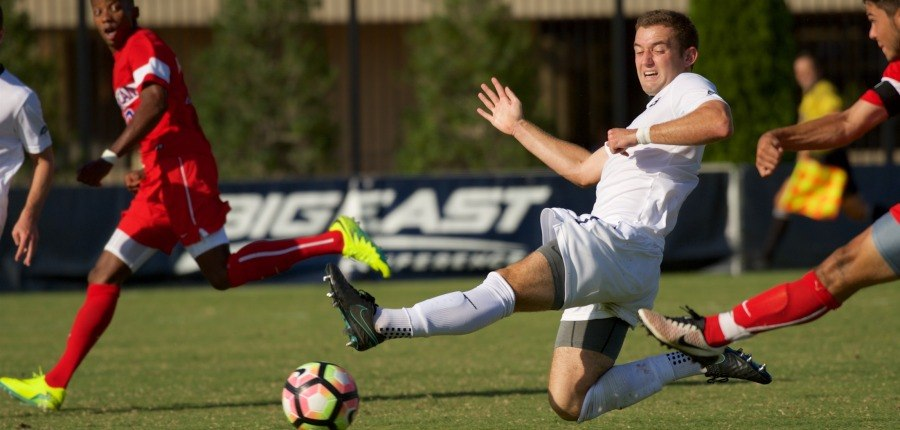 Second-Half Surge Fuels No. 16 Men's Soccer in Comeback Victory